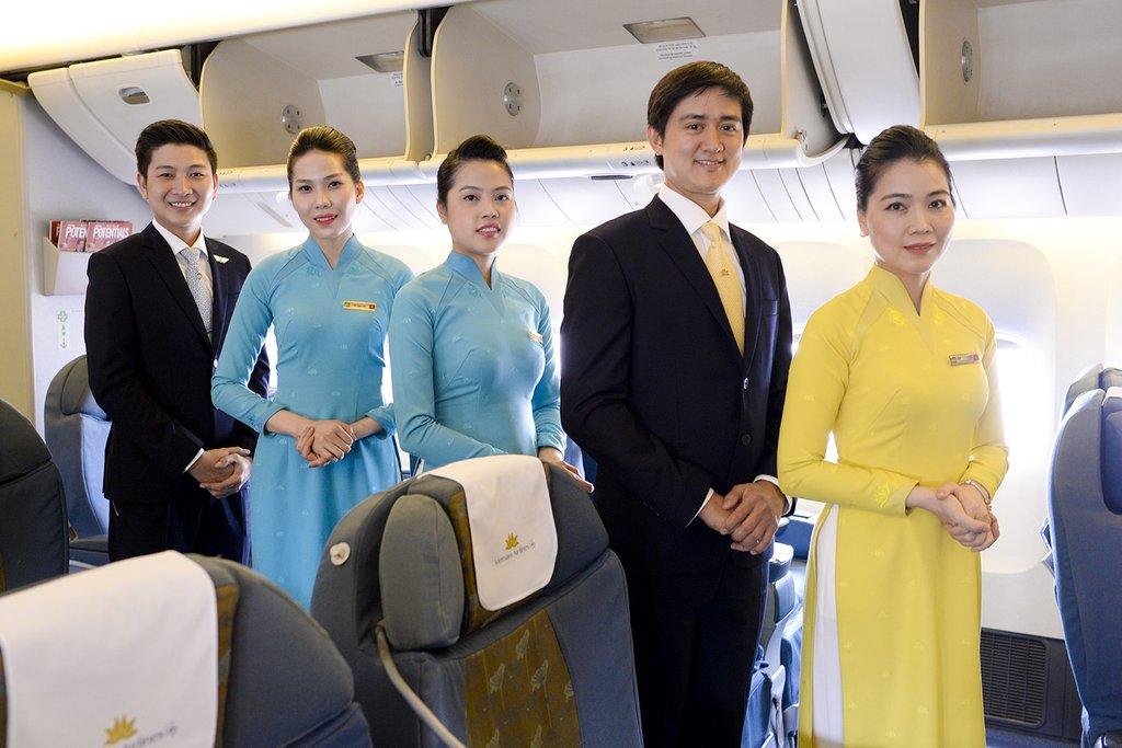 Vietnam Airlines đổi đồng phục tiếp viên và phi công
