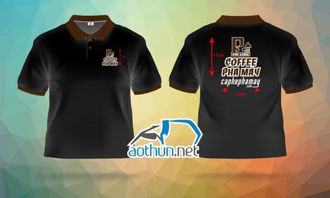 Áo thun đồng phục Công ty Cà Phê Pha Máy Phi Long Coffee