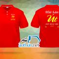 May áo thun Quán Hải Sản Út tại Hóc Môn