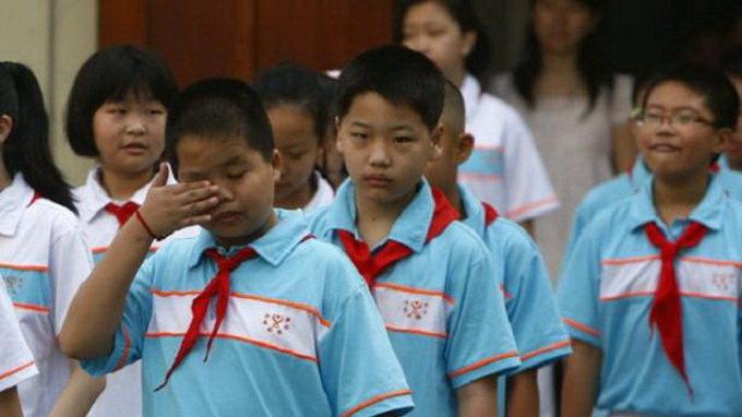 Trung Quốc: phát hiện thuốc nhuộm độc hại trong đồng phục