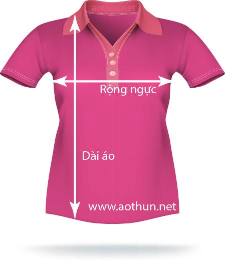 Hướng dẫn đo size áo đồng phục 2