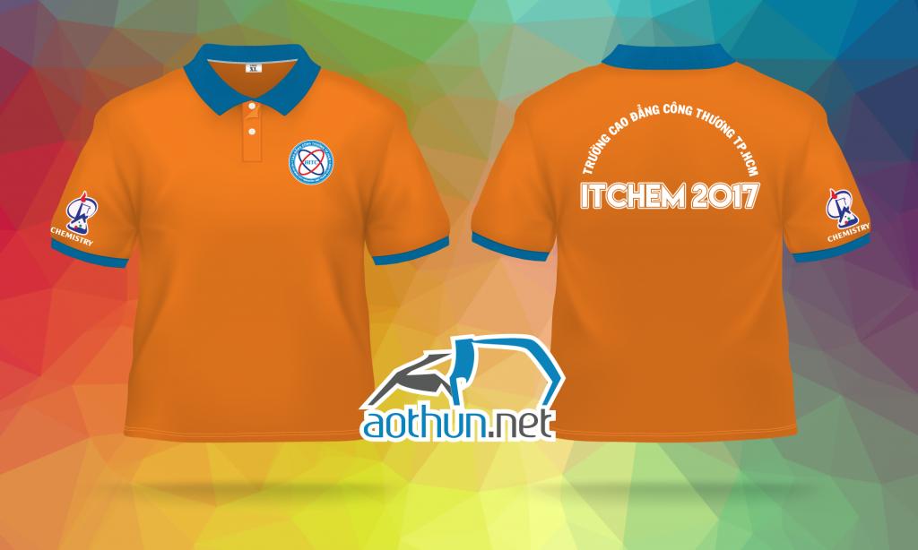 Áo đồng phục cuộc thi ITCHEM TRƯỜNG CAO ĐẲNG CÔNG THƯƠNG TP.HCM