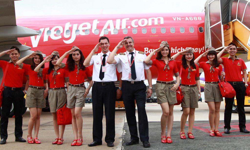 Đồng phục Vietjet Air