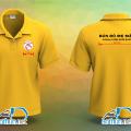 Áo thun và tạp dề đồng phục nhân viên quán Bún Bò Mẹ Mập tại Quận 8