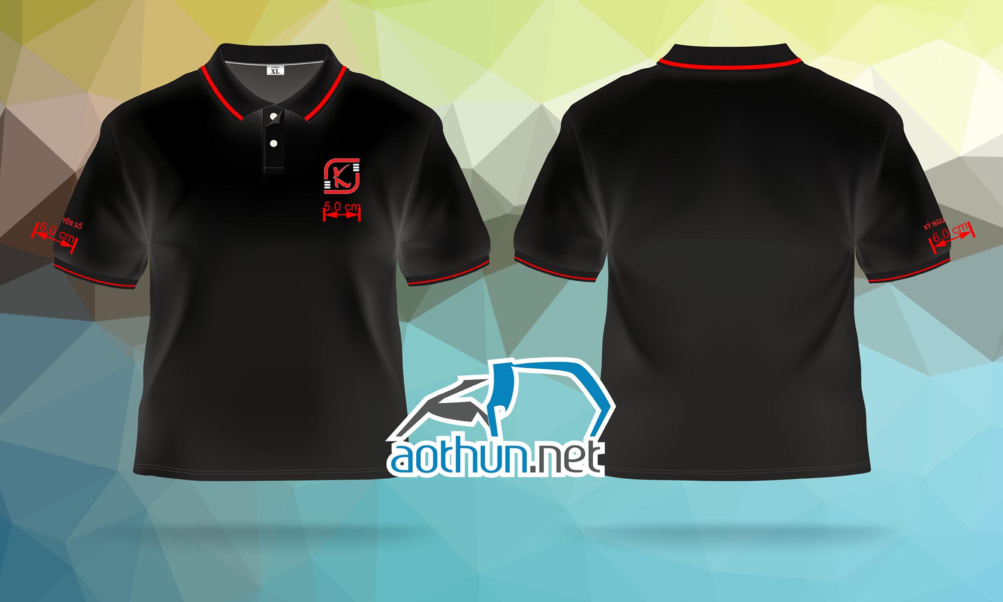 May áo thun đồng phục đẹp và nhanh cho Công ty Kỷ Nguyên Số