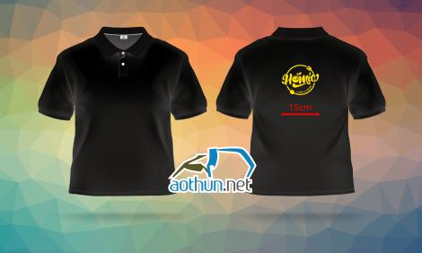 May đồng phục áo thun đen - Homie