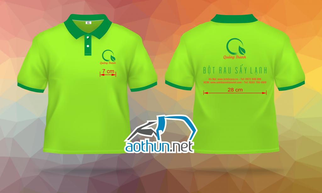 May đồng phục áo thun giá rẻ Quảng Thanh tại Hà Nội