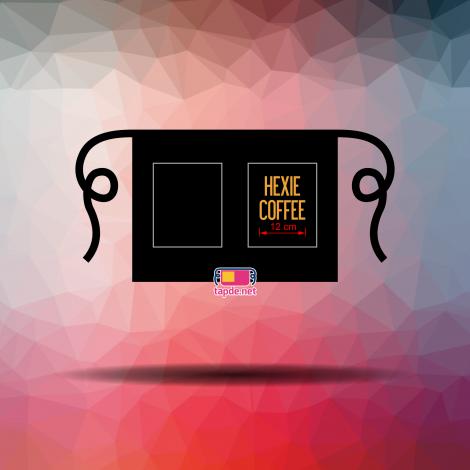 May tạp dề đồng phục cho cửa hàng cafe Hexie Coffee tại Quận 1