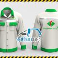 Áo đồng phục bảo hộ lao động cho công nhân Tập đoàn Tiến Thịnh