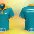 Đồng phục áo thun nhân viên Bưu chính Viettel Post