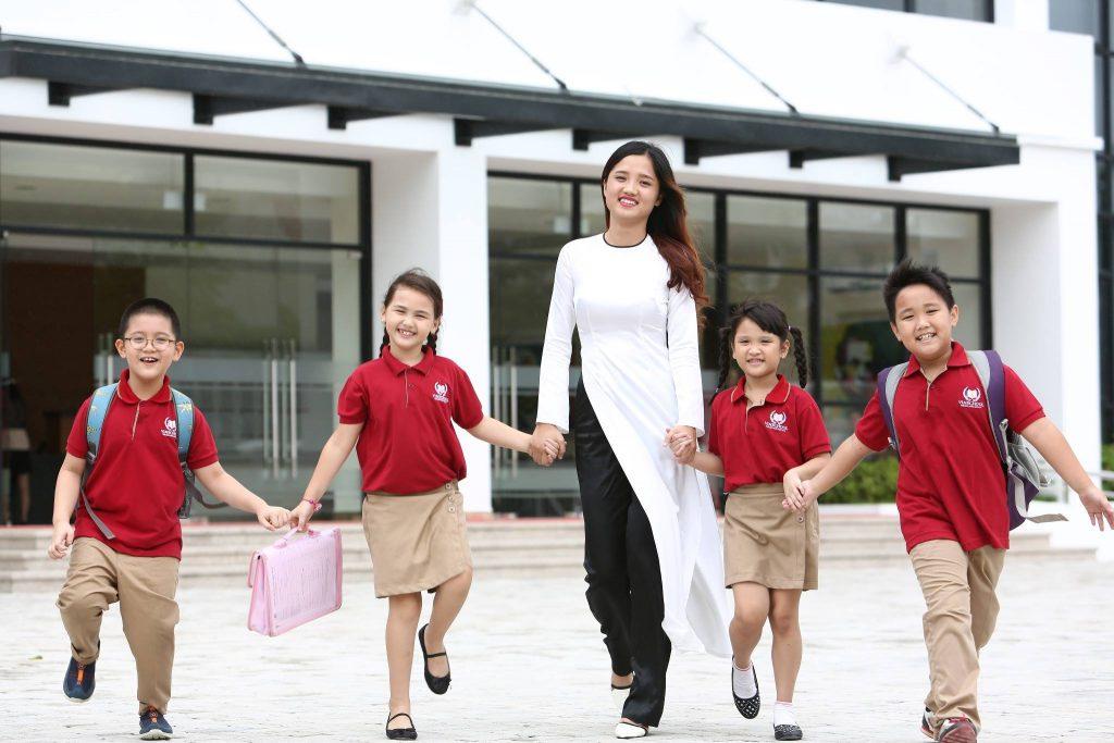 Đồng phục học sinh trường Vinschool - 8