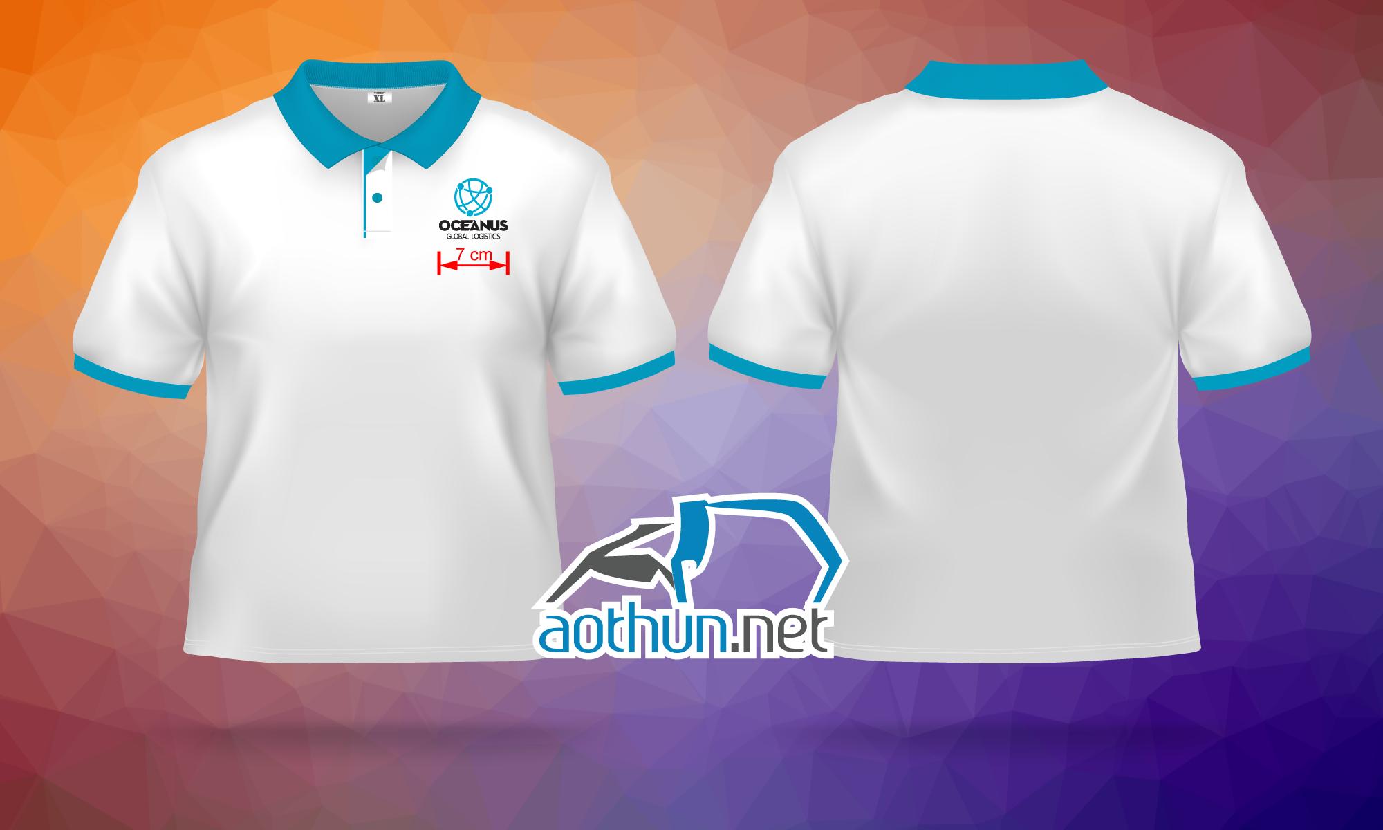 In áo thun đồng phục chất lượng cao giá tốt cho Công Ty Oceanus tại Quận 4