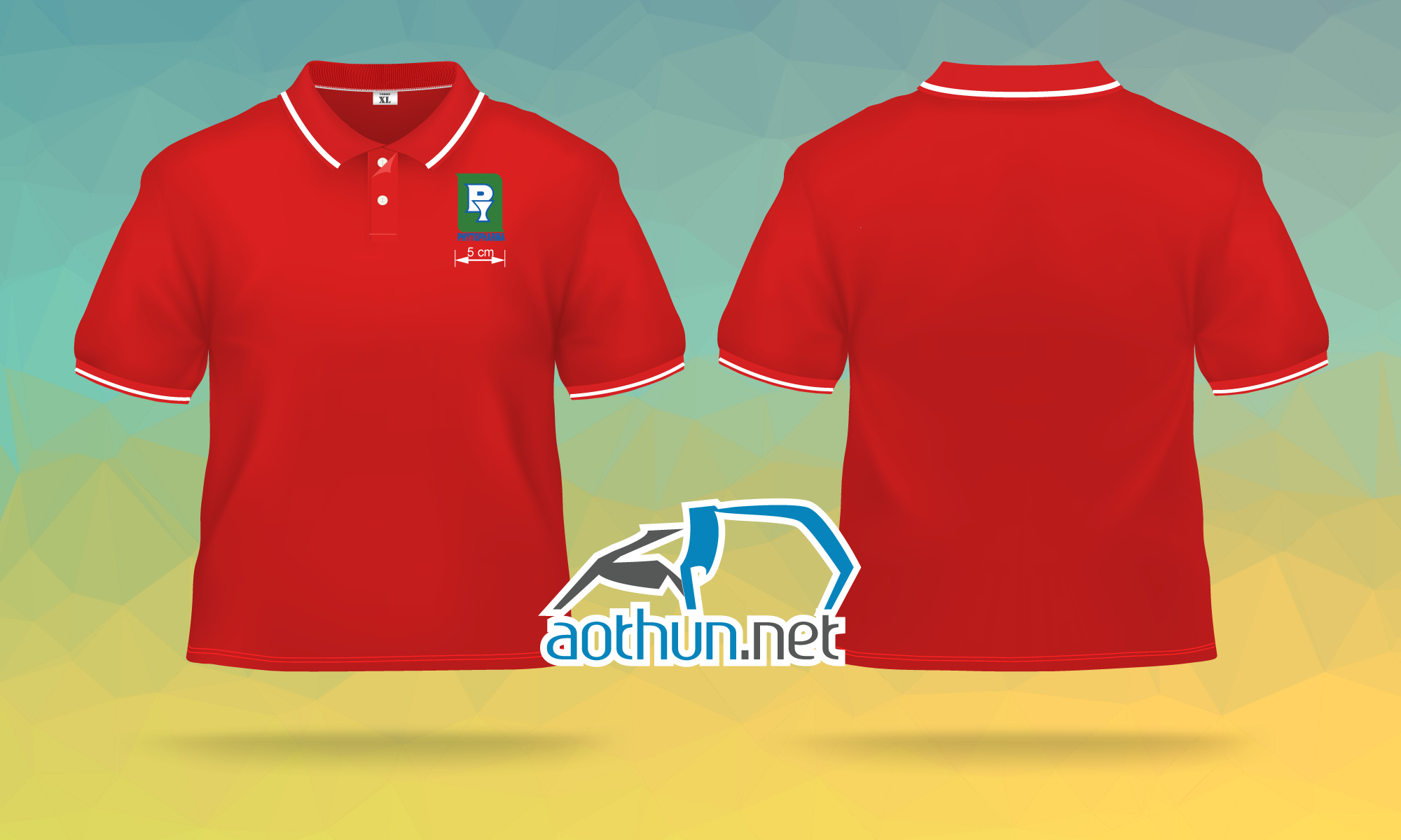 In áo thun đồng phục chất lượng cho Công Ty Cổ Phần Dược Liệu Trung Ương 2