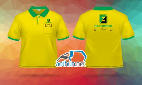 In áo thun đồng phục giá tốt mẫu mã đẹp cho Công Ty Cổ Phần Sản Xuất và Thương Mại The Funiture tại Hóc Môn
