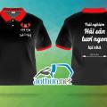 In áo thun đồng phục mẫu mã đẹp chất lượng cao cho Quán Hải Sản Vua Cua ở Quận Bình Thạnh