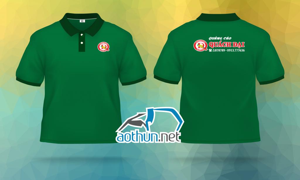 In áo thun đồng phục nhân viên giá tốt mẫu mã đẹp cho tiệm Quảng Cáo Quách Đại