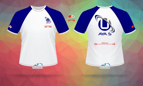 In áo thun đồng phục nhanh và đẹp cho Công Ty AYA S ở Quận Tân Bình