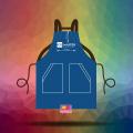 In đồng phục tạp dề đeo vai chất lượng tốt mẫu mã đẹp cho cửa tiệm Ice Master Premium Tea & Dessert