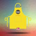 In tạp dề đồng phục chất lượng giá tốt cho Quán Tay Cafe