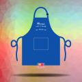 In tạp dề đồng phục nhân viên giá tốt chất lượng cao cho tiệm Ocean Nails & Beauty