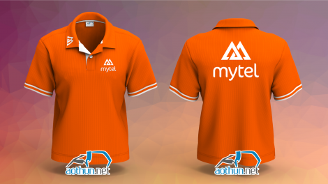 Đồng phục áo thun Viễn Thông Myanmar Mytel
