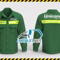 Áo bảo hộ lao động Công nhân Unicons