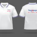 May áo thun đồng phục đẹp và nhanh cho công ty Sagonap ở Quận