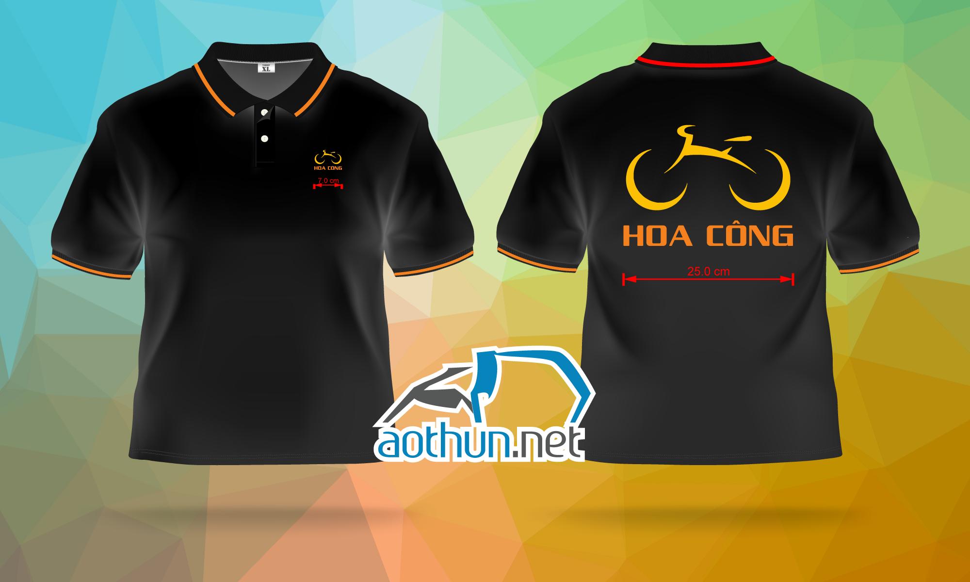 May áo thun đồg phục giá rẻ cho Trung Tâm Xe Điện & Xe Đạp Hoa Công tại Ninh