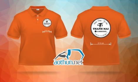 May áo thun đồng phục nhân viên nhanh và đẹp cho Quán Bánh Tráng & Trà Sữa Thanh Mai tại Quận Phú Nhuận