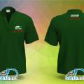 May đồng phục áo thun cổ tàu mẫu đẹp chất lượng cho Công Ty Multi Volt Hikoki