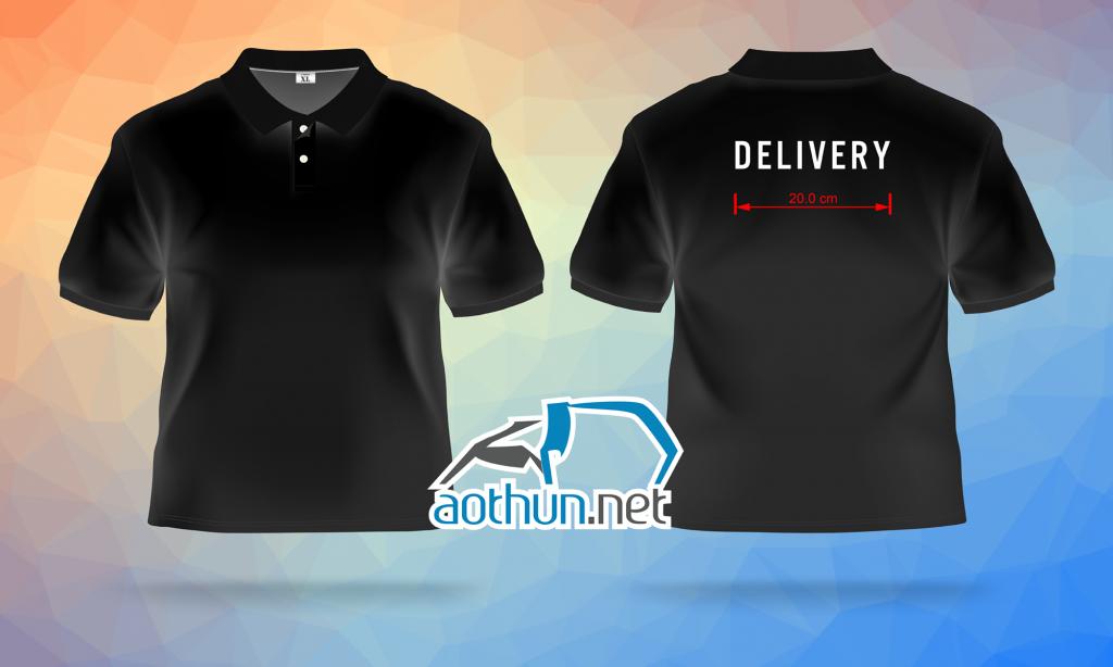May đồng phục áo thun giá rẻ và nhanh cho Công ty vận chuyển Delivery