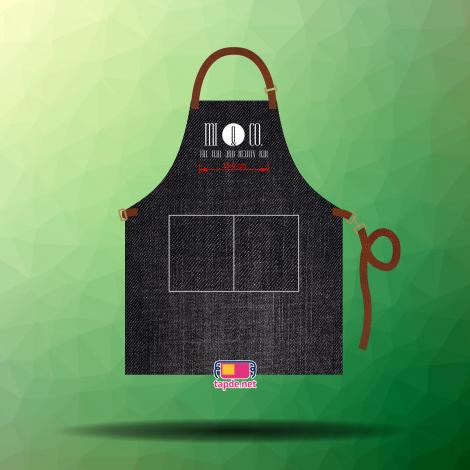 May tạp dề jean mẫu mã đẹp chất lượng cao cho tiệm Nail Mi&Co