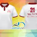 Áo thun đồng phục ngày họp lớp Trường THPT Sào Nam sau 21 năm