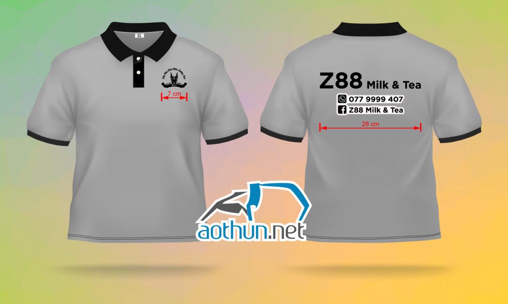 Áo thun đồng phục nhân viên quán Z88 tại Đồng Nai