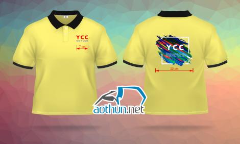Áo thun đồng phục thành viên CLB Sắc Màu Thanh Niên - YCC