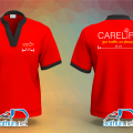 Đồng phục áo thun cổ tàu nhà thuốc Carelife Đông Trùng Hạ Thảo tại Quận 6