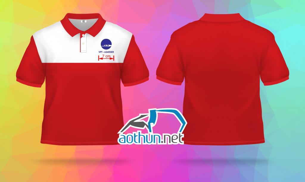 Đồng phục áo thun Công Ty VPT - Learder