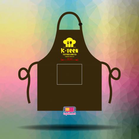Đồng phục tạp dề nhân viên quán ăn K-teen tại Hà Nội