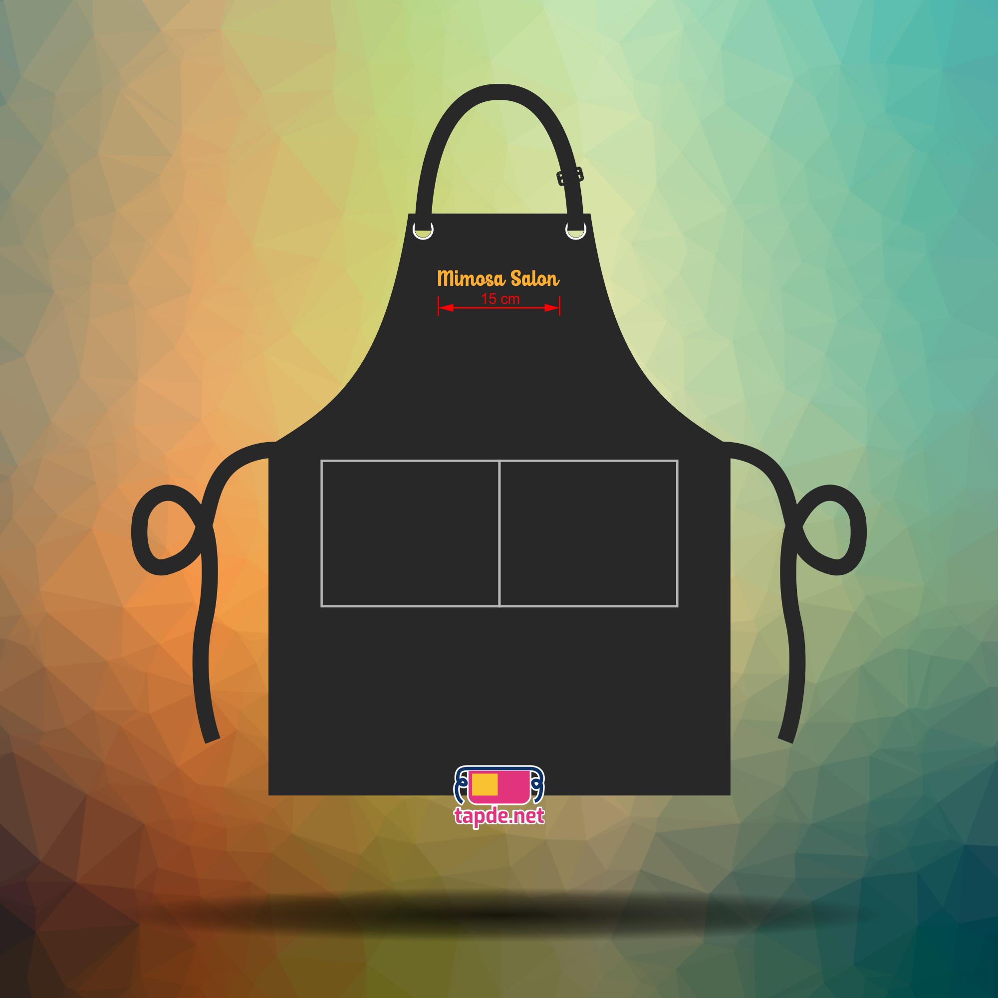 Đồng phục tạp dề nhân viên Tiệm Salon Mimosa