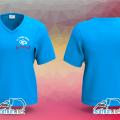 May áo thun cổ tim đồng phục cho Fanclub Thanh Ngân