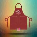 Tạp dề đồng phục nhân viên Quán The Coffee & Tea Station tại Quận 11