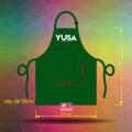 Tạp dề đồng phục nhân viên quán Yusa - Tea & Coffee tại Quận 1