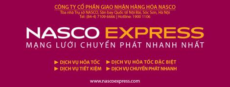 Áo bảo hộ đồng phục nhân viên Dịch Vụ Chuyển Phát Nhanh Nasco ở Hà Nội 2