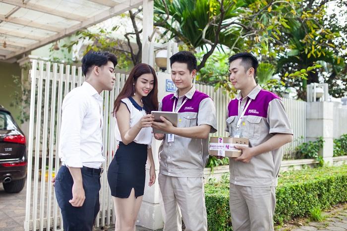 Áo bảo hộ đồng phục nhân viên Dịch Vụ Chuyển Phát Nhanh Nasco ở Hà Nội 17