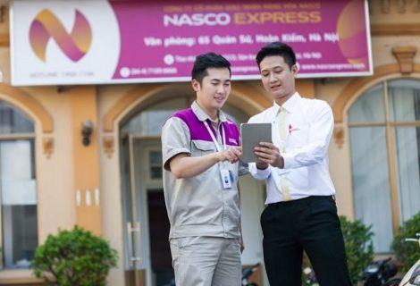 Áo bảo hộ đồng phục nhân viên Dịch Vụ Chuyển Phát Nhanh Nasco ở Hà Nội 23