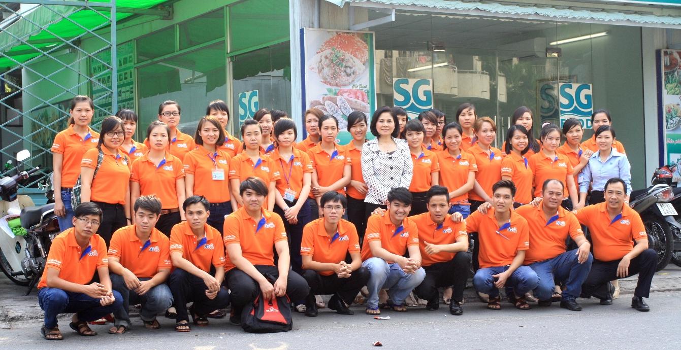 Áo thun đồng phục Công ty Sài Gòn Food SG Soup Baby ở Quận Phú Nhuận 1