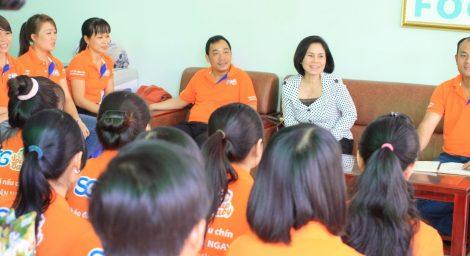 Áo thun đồng phục Công ty Sài Gòn Food SG Soup Baby ở Quận Phú Nhuận 2