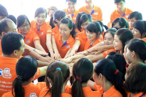 Áo thun đồng phục Công ty Sài Gòn Food SG Soup Baby ở Quận Phú Nhuận 4