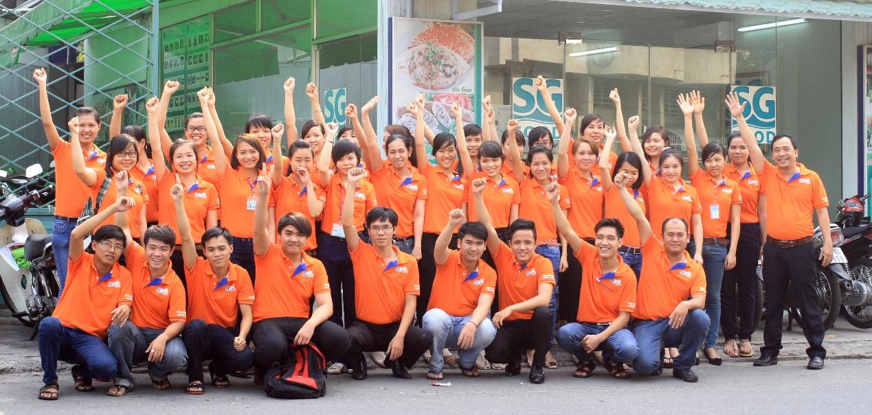Áo thun đồng phục Công ty Sài Gòn Food SG Soup Baby ở Quận Phú Nhuận 5