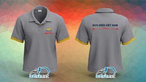 Áo thun đồng phục nhân viên Bưu Điện Việt Nam